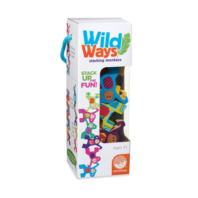 MindWare Wild Ways Stacking Monkeys