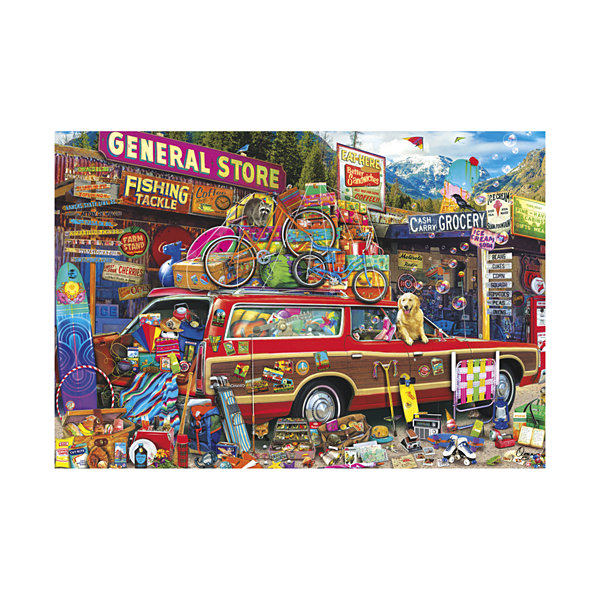 Buffalo Games Aimee Stewart - Family Vacation: 2000 Pcs