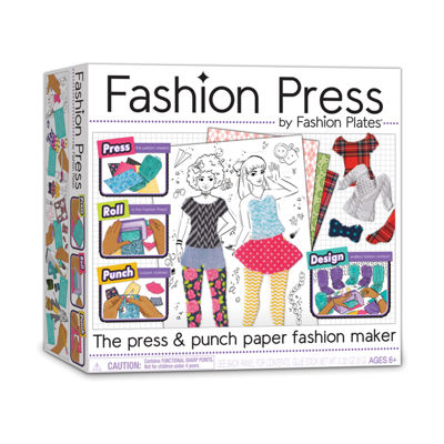Fashion Plates Fashion Press Paper Fashion Maker
