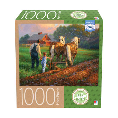 Milton Bradley Premium Blue Board Jigsaw Puzzle -Mark Keathley - You've Got What It Takes: 1000 Pcs