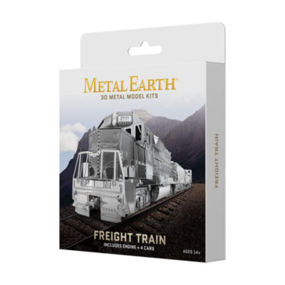 Fascinations Metal Earth 3D Metal Model Kit - Freight Train Box Set