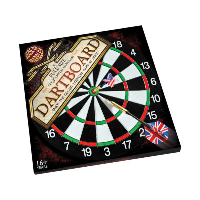 House of Marbles Full Size Dartboard and Darts Set