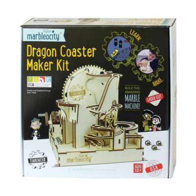 PlayMonster Marbleocity - Dragon Coaster Maker Kit