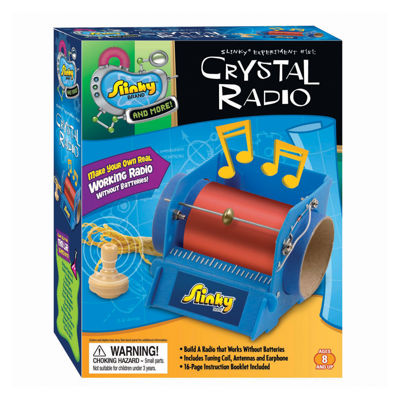 POOF-Slinky Science Kit - Crystal Radio