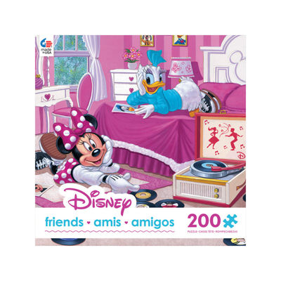Ceaco Oversized Disney Friends Puzzle - Minnie & Daisy's Favorite Tune: 200 Pcs