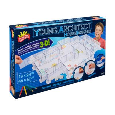 Scientific Explorer Young Architect House Designer