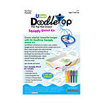U-Create Doodletop Stencil Kit - Sea Life