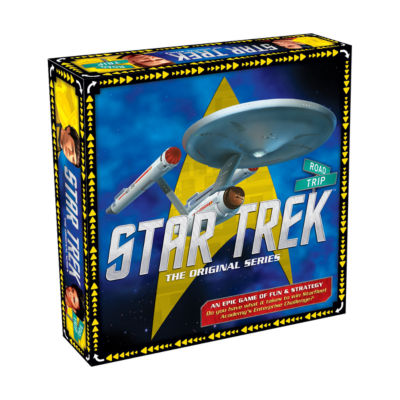 Aquarius Star Trek - The Original Series Road TripBoard Game