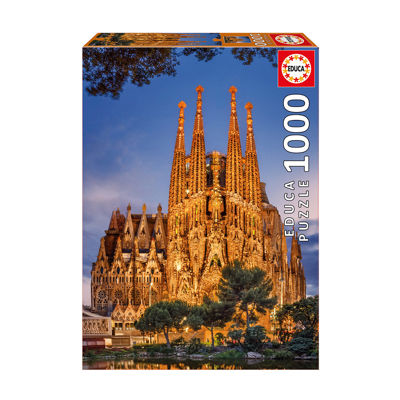 Educa Sagrada Familia: 1000 Pcs