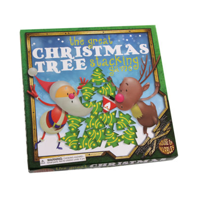 House of Marbles The Great Christmas Tree StackingGame