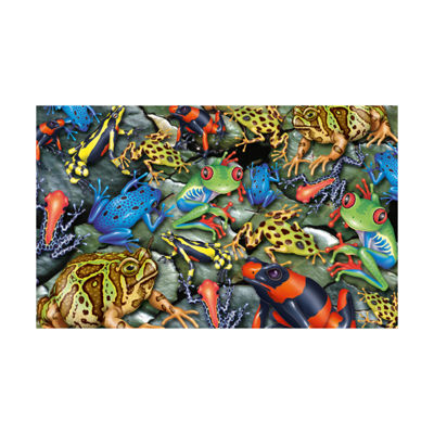 Piatnik Big Frogs Jigsaw Puzzle: 1000 Pcs