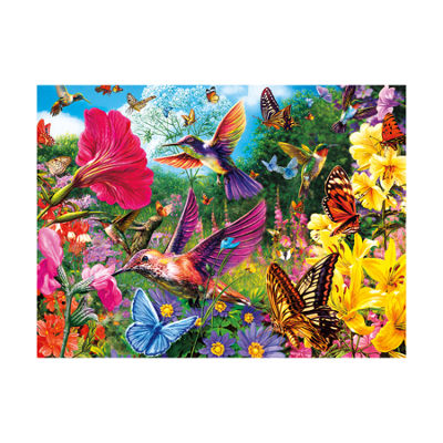 Buffalo Games Vivid Collection - Hummingbird Garden: 1000 Pcs