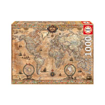 Educa Antique World Map: 1000 Pcs