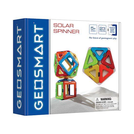 Smart Toys And Games Geosmart Solar Spinner: 23 Pcs