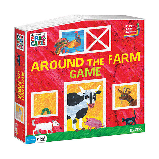 Briarpatch The World of Eric Carle - Around the Farm Game