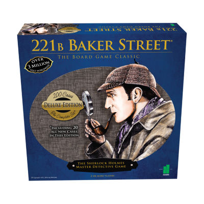 John N. Hansen Co. 221B Baker Street - The MasterDetective Game - Deluxe Edition
