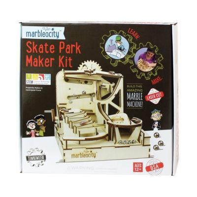 PlayMonster Marbleocity - Skate Park Maker Kit
