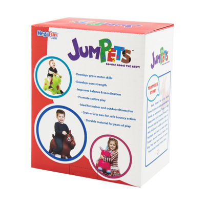 MegaFun USA JumPets Bouncer - Trotter the Horse (White)