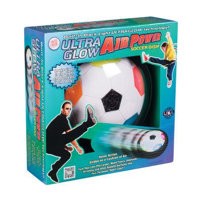 Toysmith Ultra Glow Air Power Soccer Disk