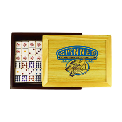 Front Porch Classics Spinner - The Game of Wild Dominoes!