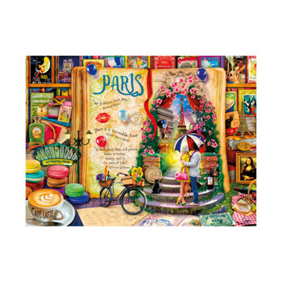Buffalo Games Aimee Stewart Collection - Life is an Open Book - Paris: 1000 Pcs