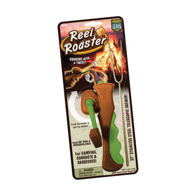 Hog Wild Marshmallow & Hot Dog Reel Roaster