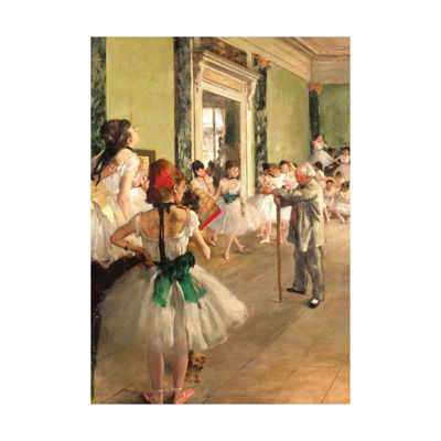 Piatnik Edgar Degas - The Ballet Class: 1000 Pcs