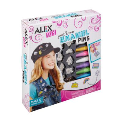 ALEX Toys ALEX DIY - Paint & Wear Enamel Pins