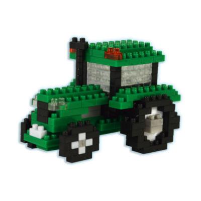 BePuzzled 3D Pixel Puzzle - Tractor: 192 Pcs