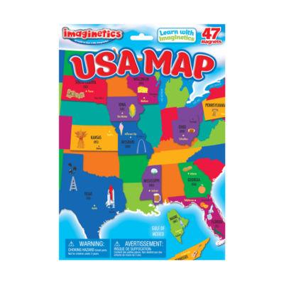 Imaginetics USA Map