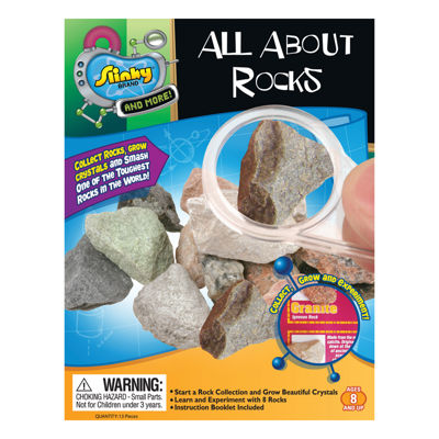 POOF-Slinky Science Kit - All About Rocks Mini Lab