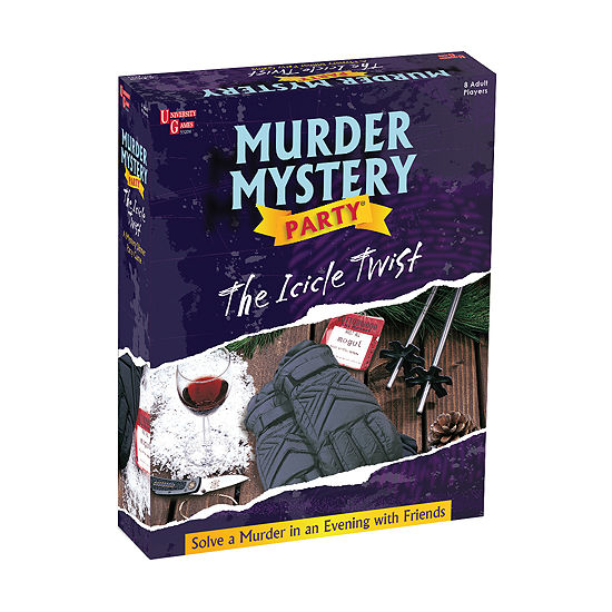 University Games Murder Mystery Party - The Icicle Twist