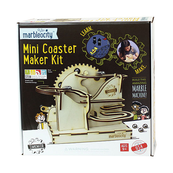 Play Monster Marbleocity Mini Coaster Maker Kit
