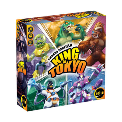 IELLO King of Tokyo - 2nd Edition