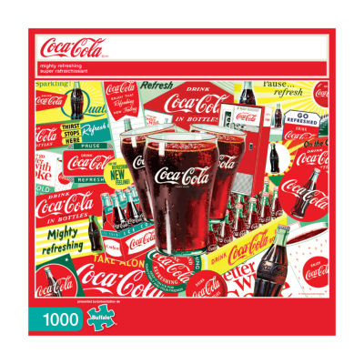 Buffalo Games Coca-Cola - Mighty Refreshing: 1000Pcs
