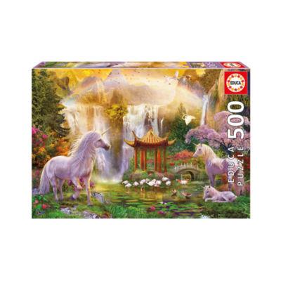 Educa Unicorn Valley of the Waterfalls: 500 Pcs