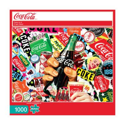 Buffalo Games Coca-Cola - Coke Is It!: 1000 Pcs