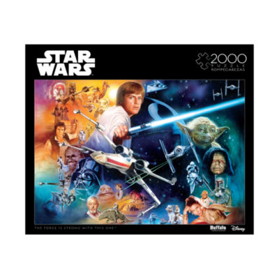 Buffalo Games Star Wars - The Force is Strong WithThis One: 2000 Pcs