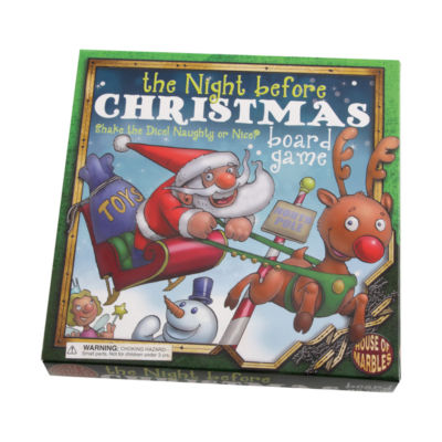 House of Marbles The Night Before Christmas BoardGame