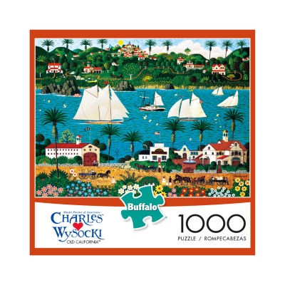 Buffalo Games Charles Wysocki - Old California: 1000 Pcs