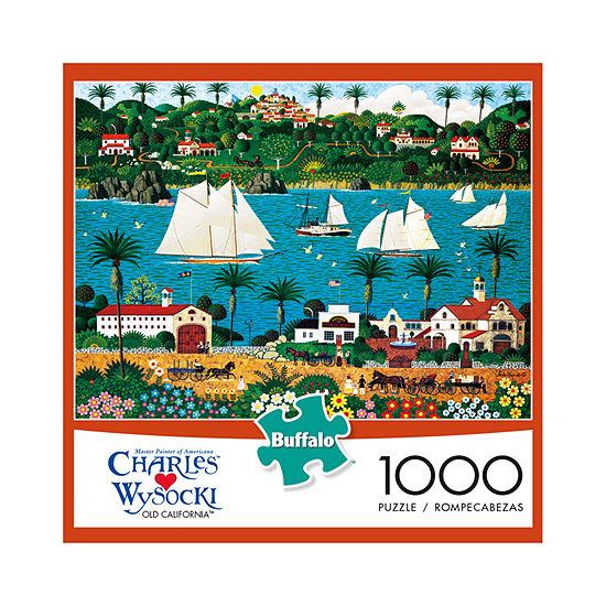 Buffalo Games Charles Wysocki - Old California: 1000 Pcs