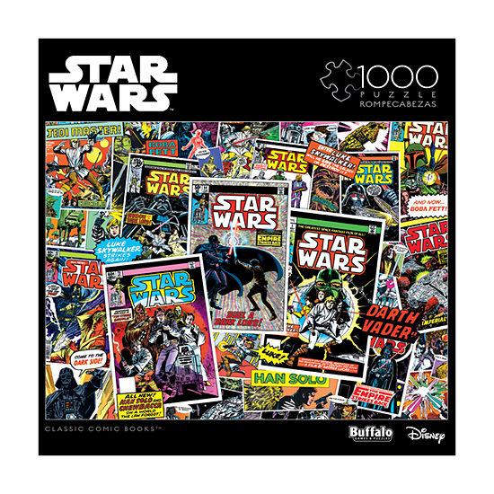 Buffalo Games Star Wars Collage - Classic Comic Books: 1000 Pcs