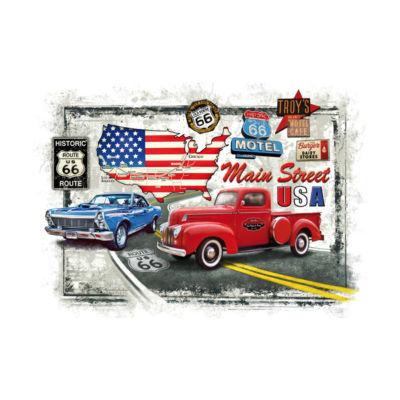 Piatnik Route 66 Jigsaw Puzzle: 1000 Pcs