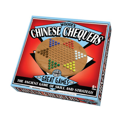 House of Marbles Wooden Chinese Chequers