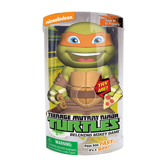 PlayMonster Teenage Ninja Turtles - Belching Mikey Game