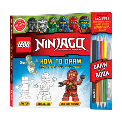Klutz LEGO Ninjago - How to Draw Ninja  Villans  and More!