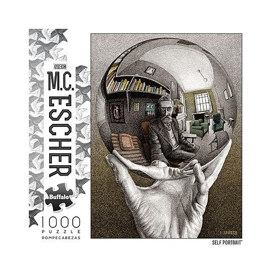 Buffalo Games M.C. Escher - Self Portrait: 1000 Pcs