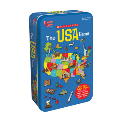 University Games Scholastic - The USA Game