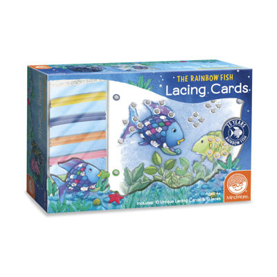 MindWare The Rainbow Fish - Lacing Cards