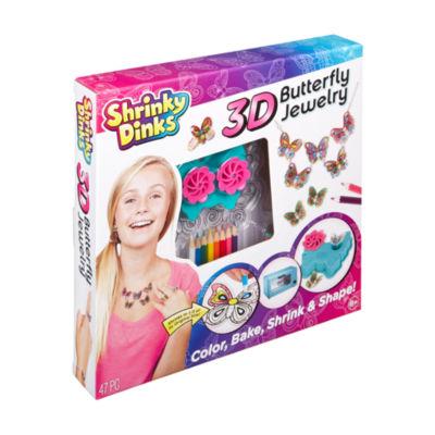 Shrinky Dinks Shrinky Dinks - 3D Butterfly Jewelry